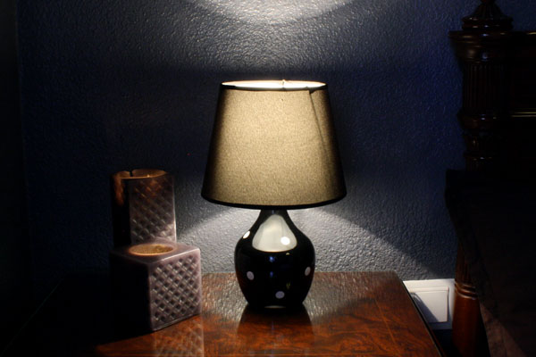 DIY Table Lamp: Old Lamp