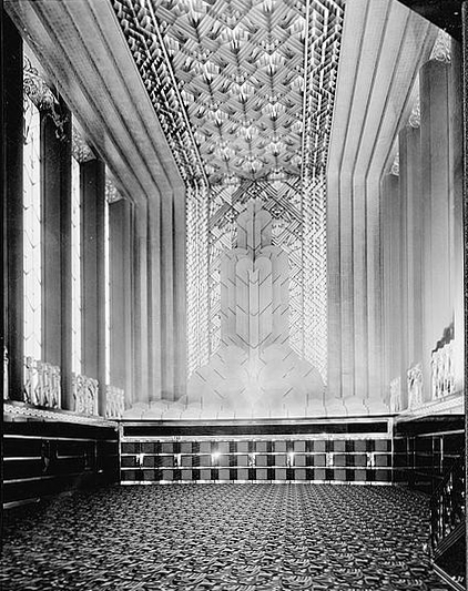Art Deco Accessories: Paramount Theater Procenium