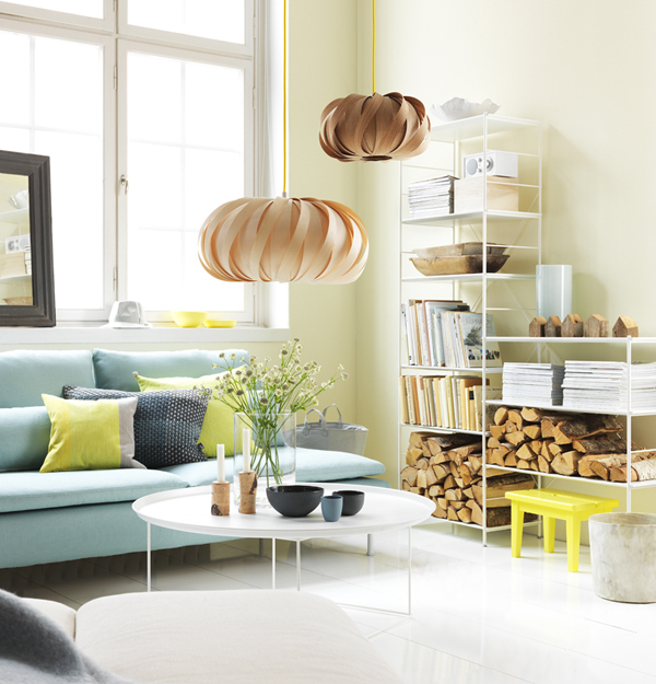 Decorating with IKEA: Nordic Light living room
