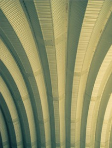 Art Deco Accessories: Corrugated Metal Detail