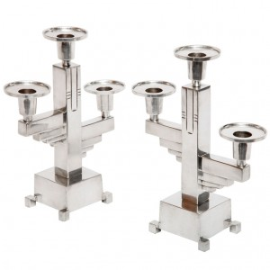 Art Deco Accessories: Candelabra Set