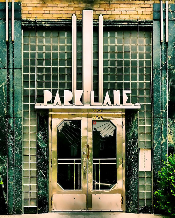 Art Deco Accessories: Park Lane Apartments
