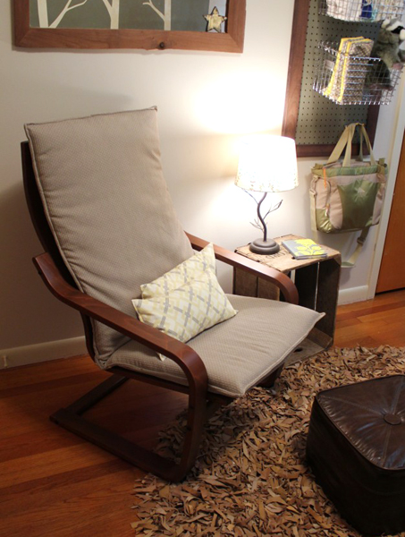 Decorating with IKEA: Poäng chair nook