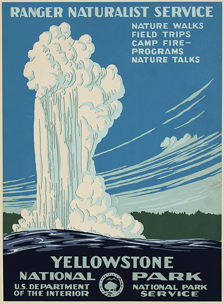 Art Deco Accessories: Yellowstone Poster