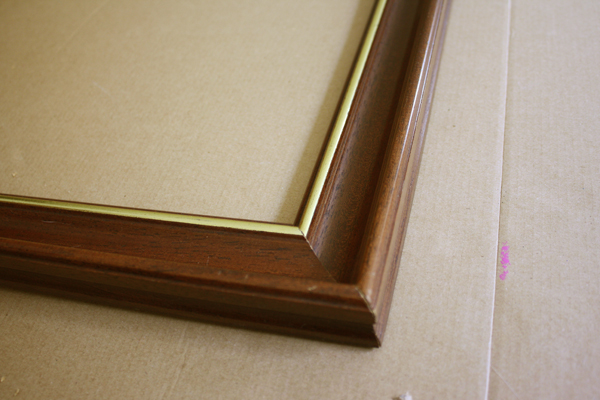 Restore an Old Frame: Frame Before