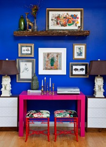 Eclectic Decorating Style: Naomi Stein Home