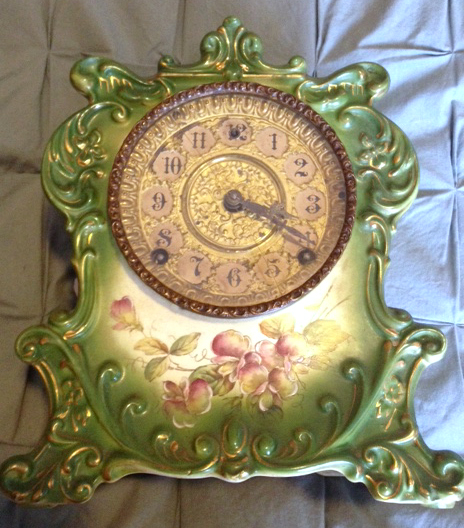 Eclectic Decorating Style: Clock Detail