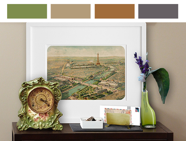 Eclectic Decorating Style: Entryway Color Palette