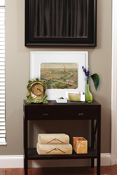 Eclectic Decorating Style: Entryway Rendering