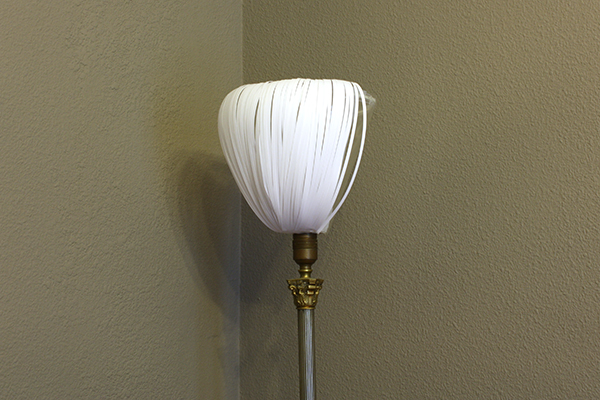 Paper Lamp Shade: In progress test