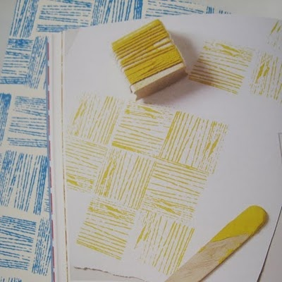 Twine and Potato Stamps: Twine Stamp Inspiration