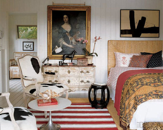 elle decor eclectic bedrooms